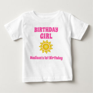 Sunshine Birthday T-shirt Toddler Baby Kid