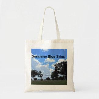 Sunshine Blue Skies Tote Bag