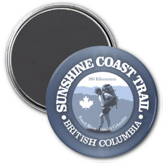 Sunshine Coast Trail Magnet