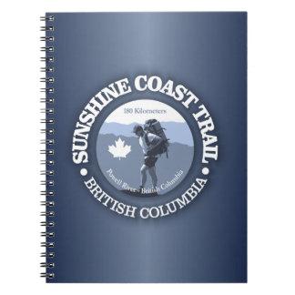 Sunshine Coast Trail Notebooks