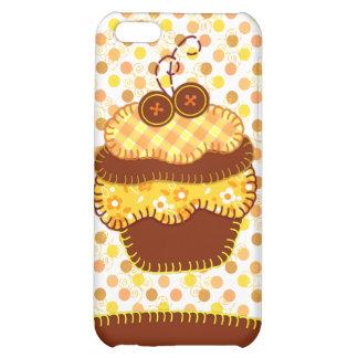 Sunshine Cupcake Applique Speck Case iPhone 5C Covers