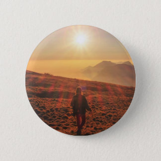 Sunshine - Dawn or Dusk 6 Cm Round Badge