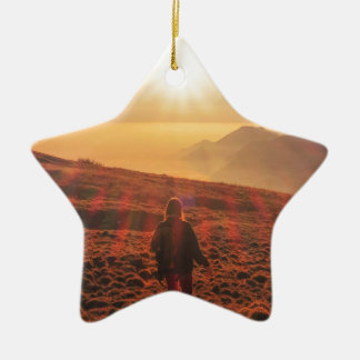 Sunshine - Dawn or Dusk Ceramic Ornament
