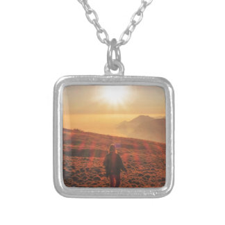Sunshine - Dawn or Dusk Silver Plated Necklace