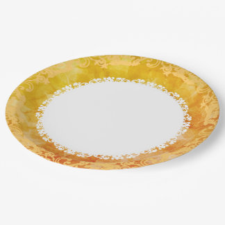 Sunshine-Double-Lace-Everyday-Celebrate Paper Plate