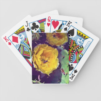 Sunshine, Flowers and Bees. Nature-Themed. Bicycle Playing Cards