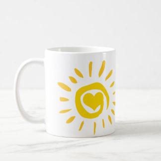 Sunshine Heart Mug