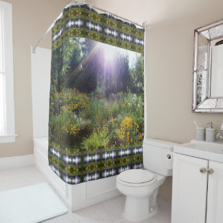 Sunshine Just Over the Tree Tops Shower Curtain