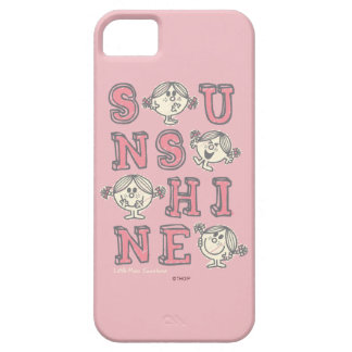 Sunshine Letters Barely There iPhone 5 Case