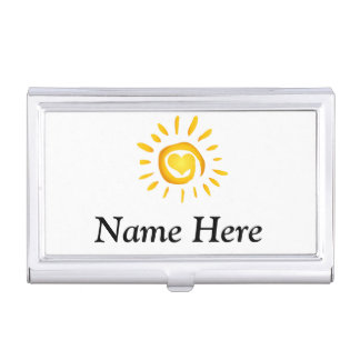 Sunshine Love Business Card Holders