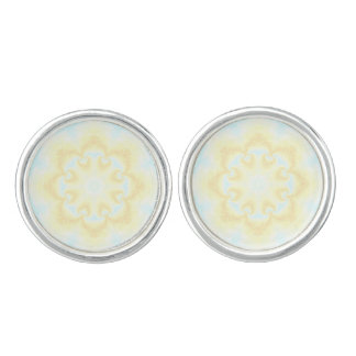 Sunshine Mandala Cufflinks
