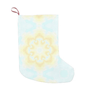 Sunshine Mandala Small Christmas Stocking