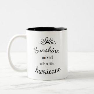 Sunshine mixed with a little hurricane mug