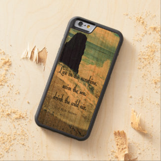 Sunshine ocean sea quote cherry iPhone 6 bumper