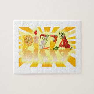 Sunshine Pizza Jigsaw Puzzle