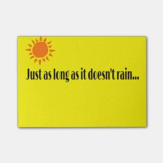 Sunshine Post-it® Notes