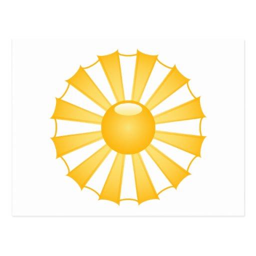 Sunshine Post Card
