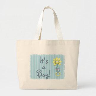 Sunshine Rattle Baby Diaper Tote Bag