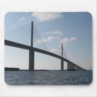 Sunshine Skyway Bridge Mouse Pads
