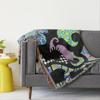 Sunshine Soul Fringed Throw
