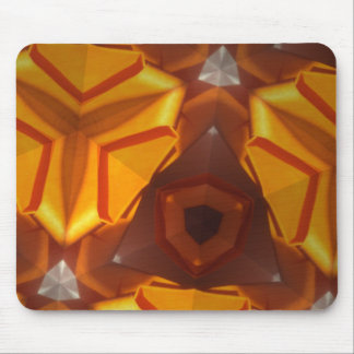 Sunshine star burst mouse pad
