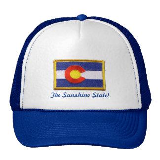 Sunshine state lid mesh hat