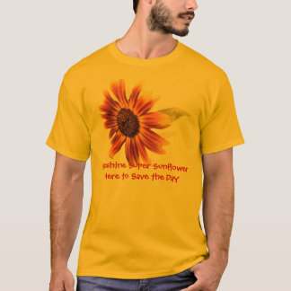 Sunshine Super Sunflower Mens' Basic T-Shirt