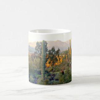 Sunshine Thro' The Saguaros Coffee Cup/Mug Coffee Mug