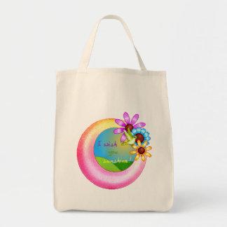 Sunshine Wish Pixel Art Tote Bag