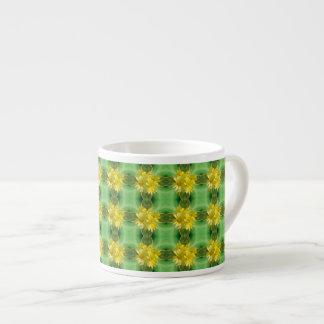 Sunshine Yellow Daisies Espresso Mug