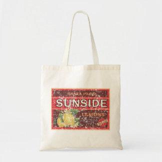 Sunside - distressed canvas bag