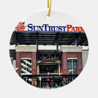 Suntrust Park, Atlanta, Christmas Ornament