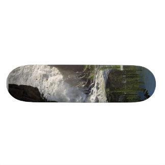 Sunwapta Falls In Jasper National Park Skateboard Deck