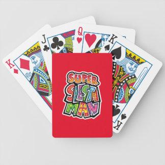 Suoer Siesta Man Bicycle Playing Cards