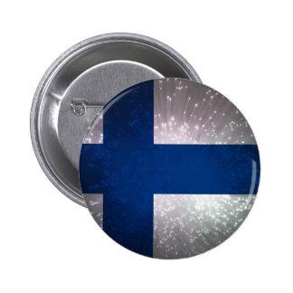 Suomen lippu pins