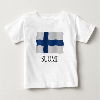 Suomi flag t shirt