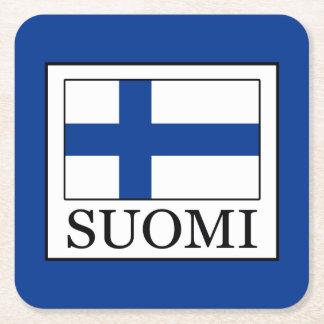 Suomi Square Paper Coaster