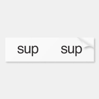 sup.ai bumper stickers