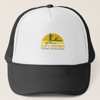 SUP and Kayak Water Sports Retro Trucker Hat
