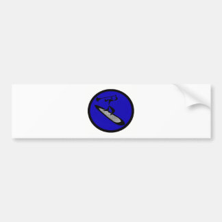 SUP BLUE BOUNCE BUMPER STICKERS