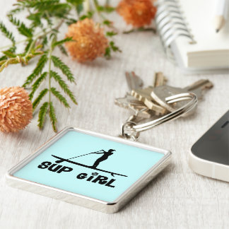 SUP Girl Key Ring