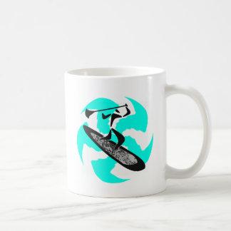 SUP IN BELIZE COFFEE MUG