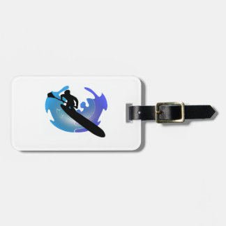 SUP IN SOUNDS LUGGAGE TAG