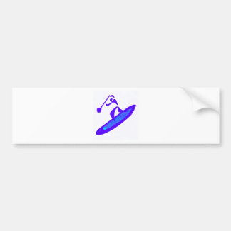 SUP LOVE ROOTS BUMPER STICKER