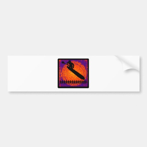 SUP MOST VIBES BUMPER STICKER