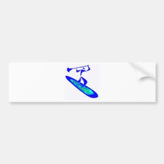 SUP no Limits Bumper Sticker