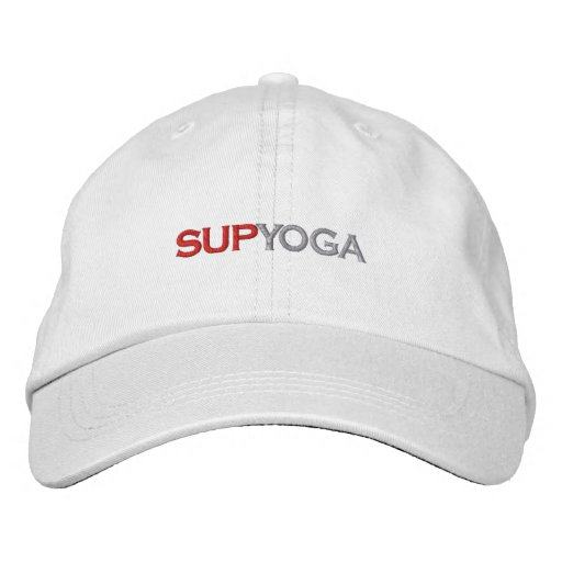 SUP YOGA EMBROIDERED HAT