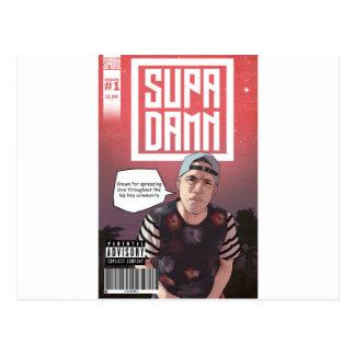 SUPADAMN Album Issue #1 Cover Art Postcard