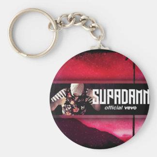 SUPADAMN VEVO Banner Basic Round Button Key Ring