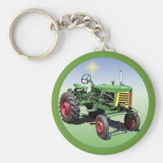 Super 44 basic round button key ring